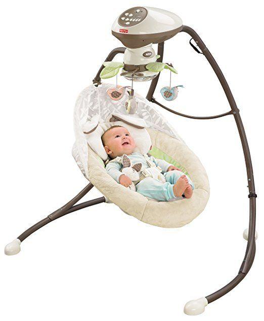 Best Baby Swing Fisher-Price Sweet Snugapuppy Dreams Cradle 'n Swing