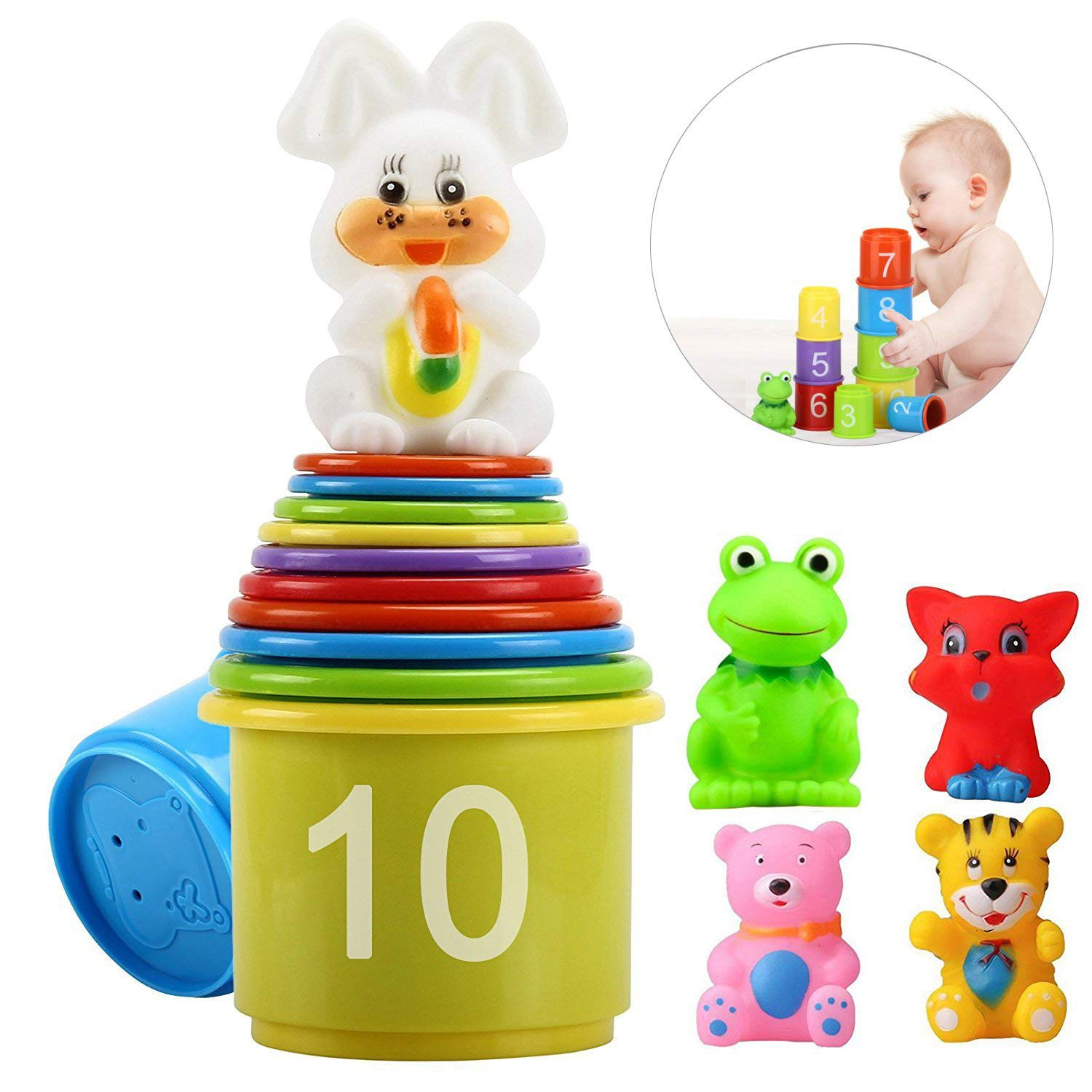 Stacking Cups Early Educational Toddlers Toy